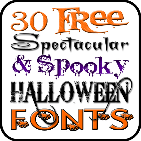 12 Cool Free Halloween Fonts Images