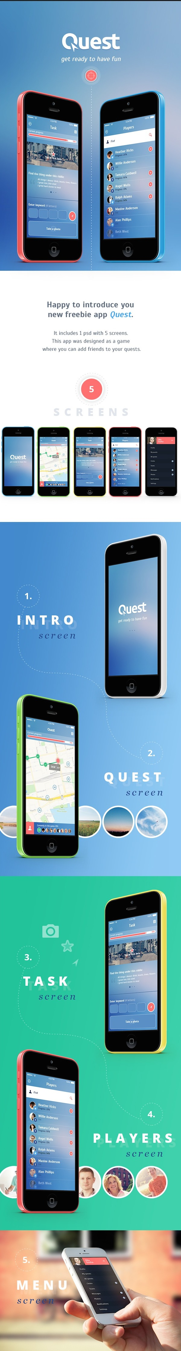 Free Mobile App Design Templates
