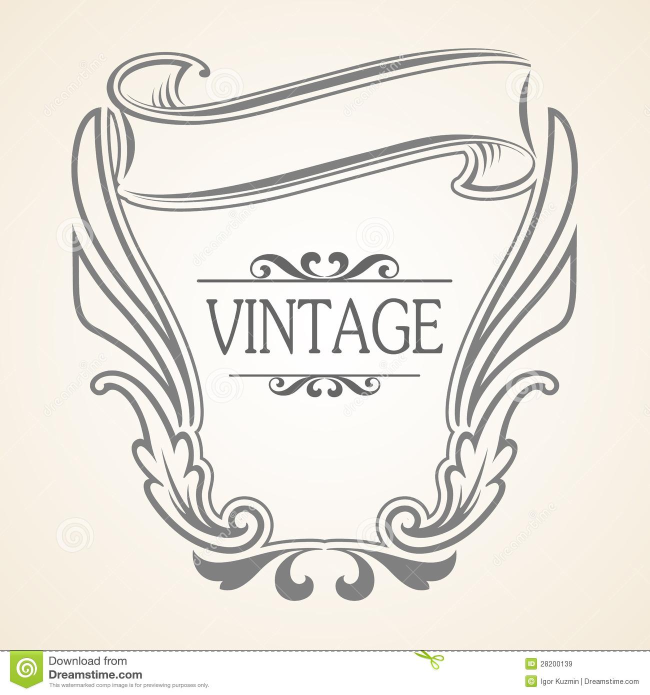 Free Vintage Vector Frames