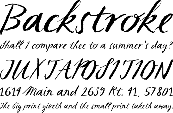 French Calligraphy Alphabet