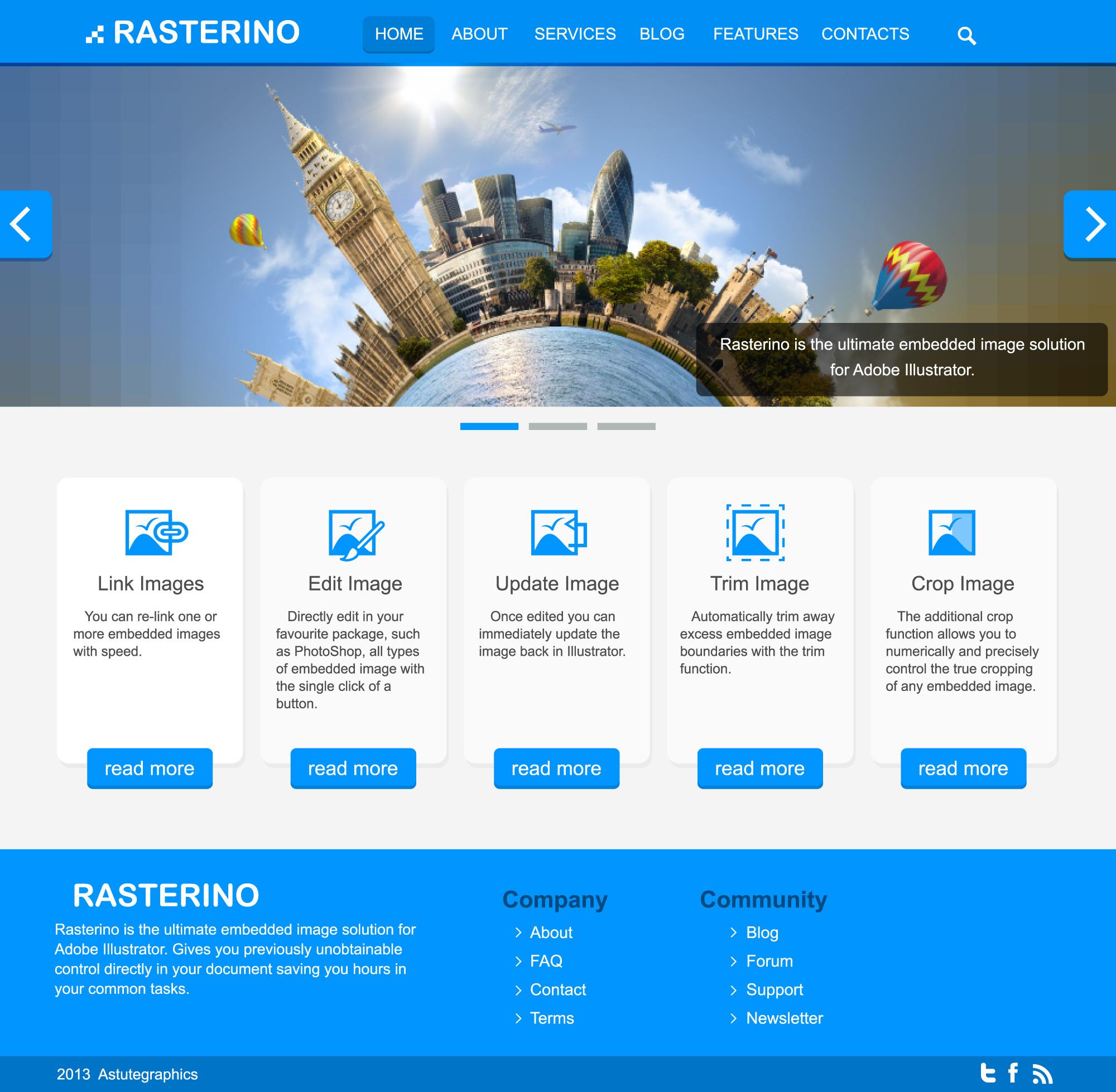 8 web page design images