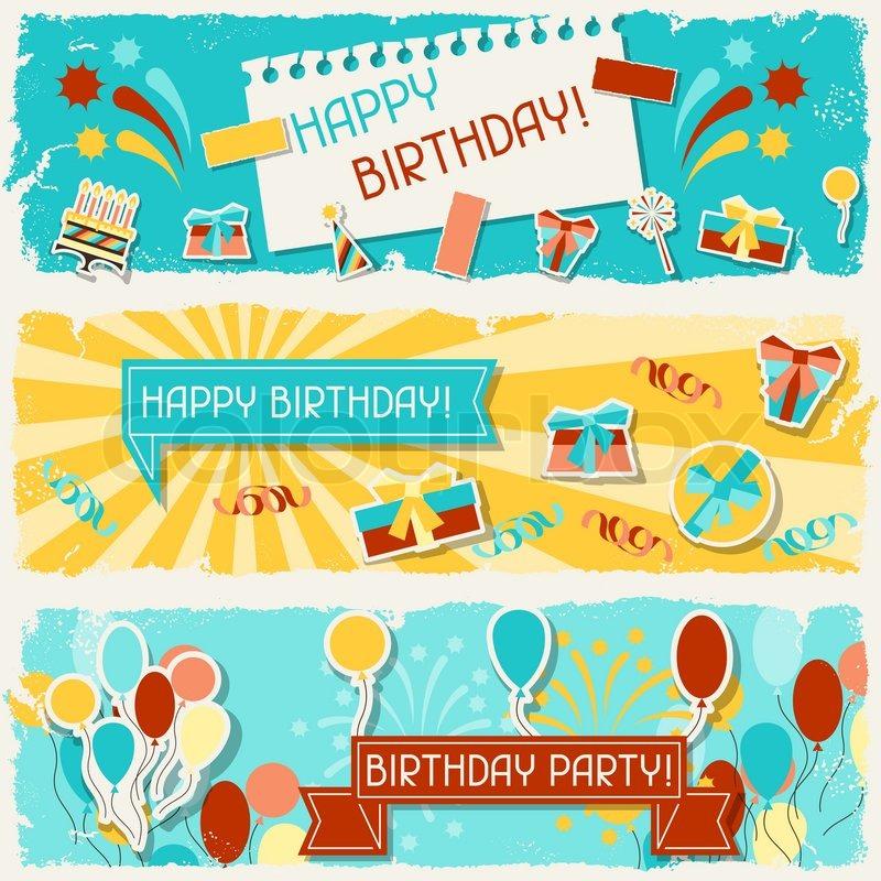 Happy Birthday Horizontal