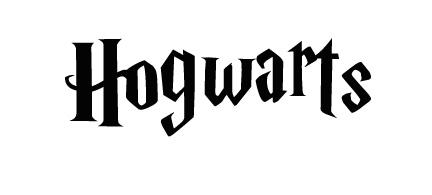 Harry Potter Hogwarts Crest Stencils
