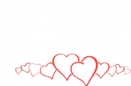 Heart Border Clip Art Free