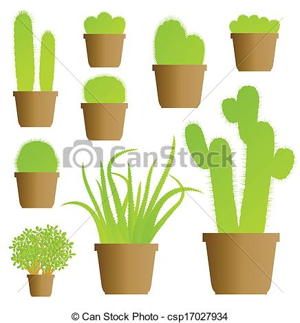 Houseplants Clip Art Free
