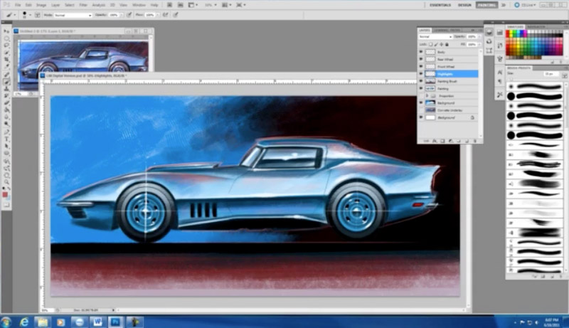How to Photoshop Cars