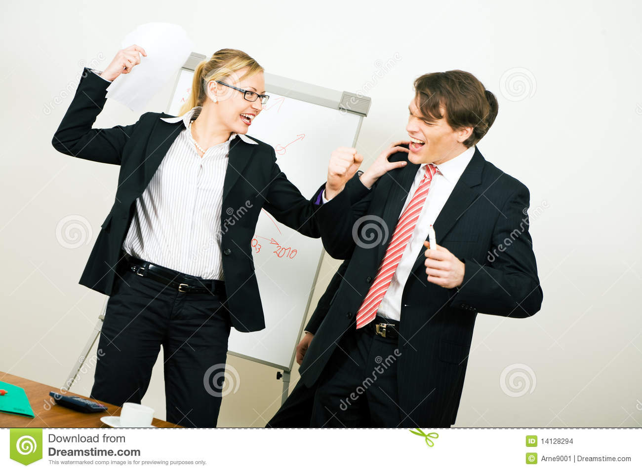 Images of Business Conflict in Teams