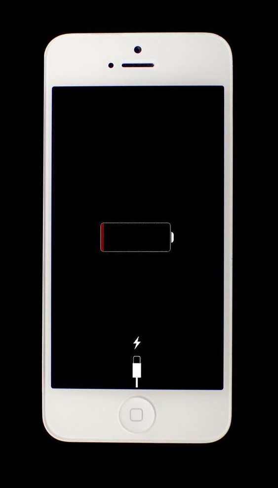13 Iphone Battery Icon White Images Apple Battery Charging Icon