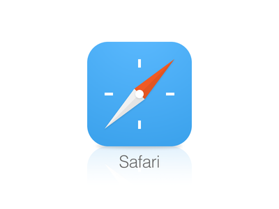 iPhone Safari App Icon