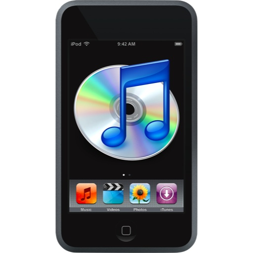 10 IPod Touch Screen Icons Images