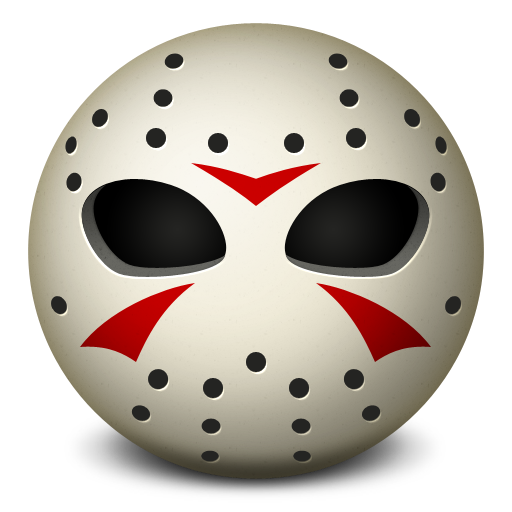 Jason Voorhees Mask Transparent
