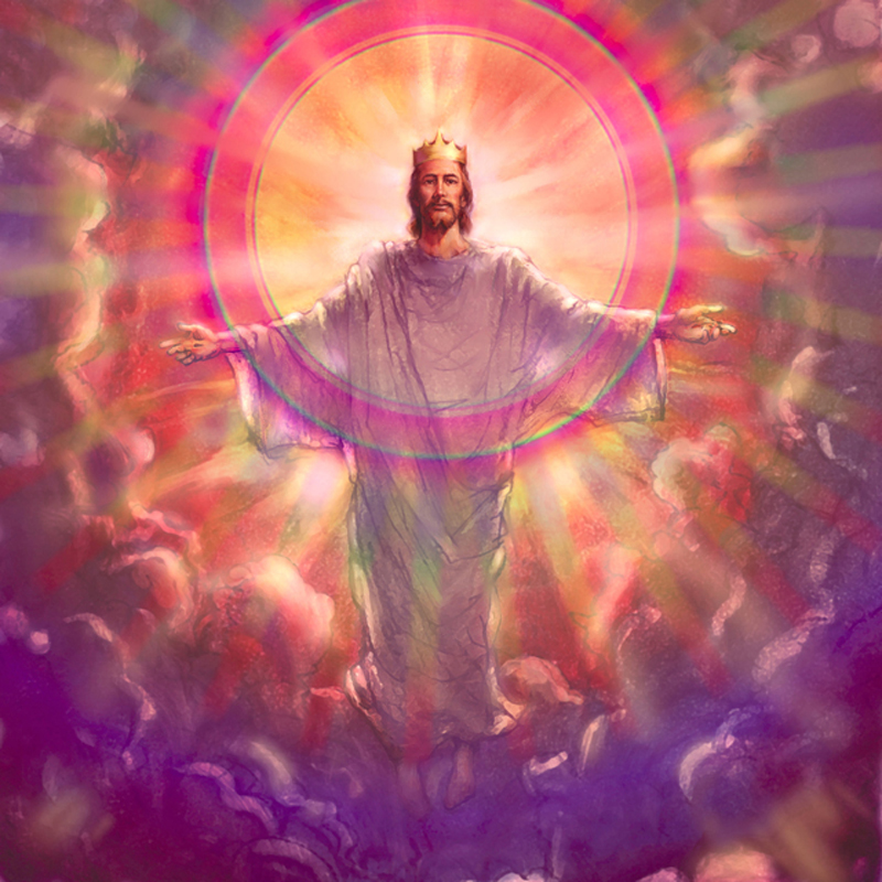 Jesus Christ the King Coming