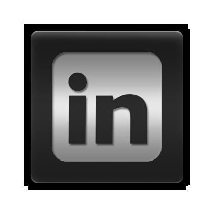 LinkedIn Logo Black