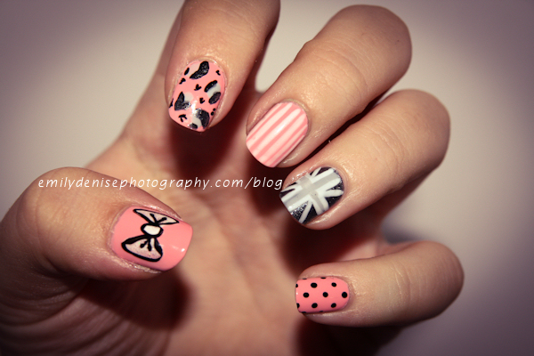 Nail Designs Different On Each Finger