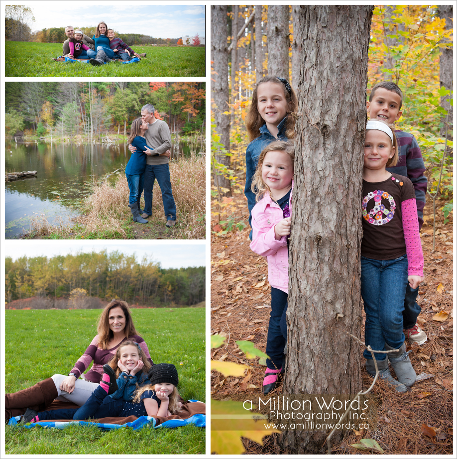 Outdoor Family Portrait Poses