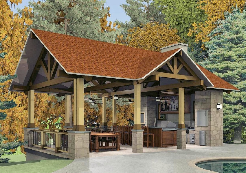 outdoor kitchen pavillion images - reverse search