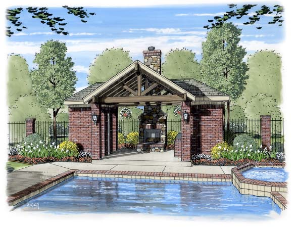 13 pool pavilion designs images backyard pool pavilion for Outdoor pool house designs
