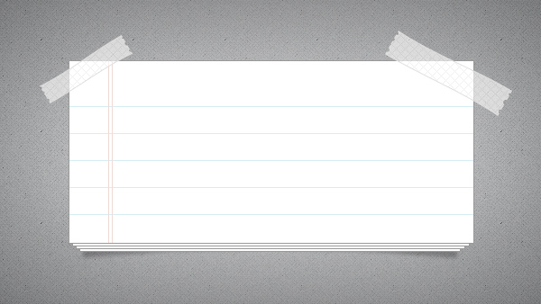 7 Paper Notes Psd Free Images