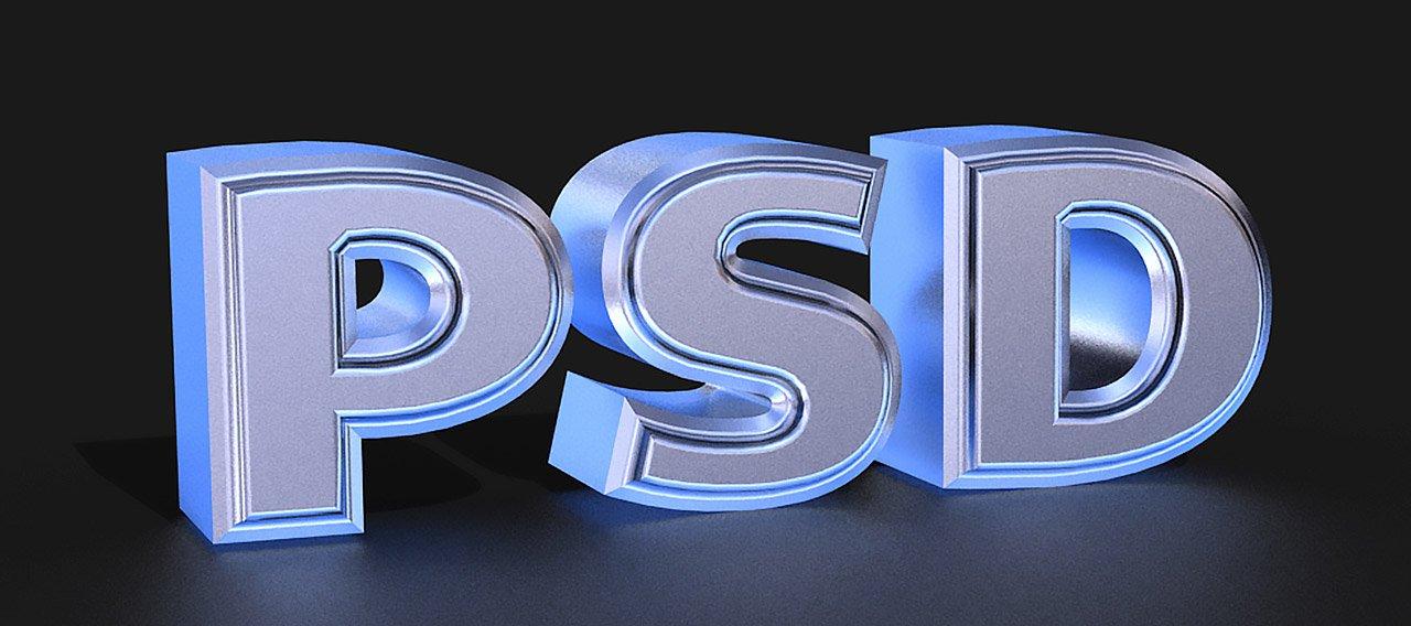 Photoshop CS6 3D Text Tutorial