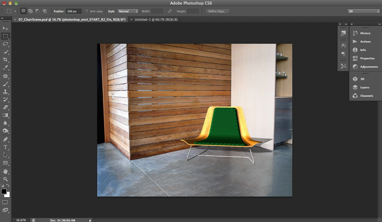 Photoshop CS6 3D Tutorial
