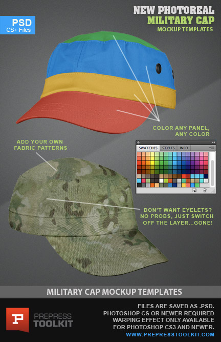 Photoshop Military Templates