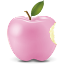 Pink Apple Icon