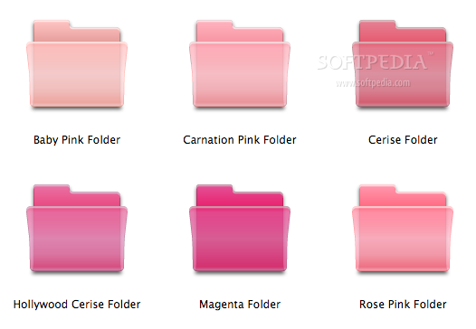12 Pink Mac Icons Images
