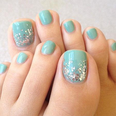 13 Pretty Toe Nail Designs Images