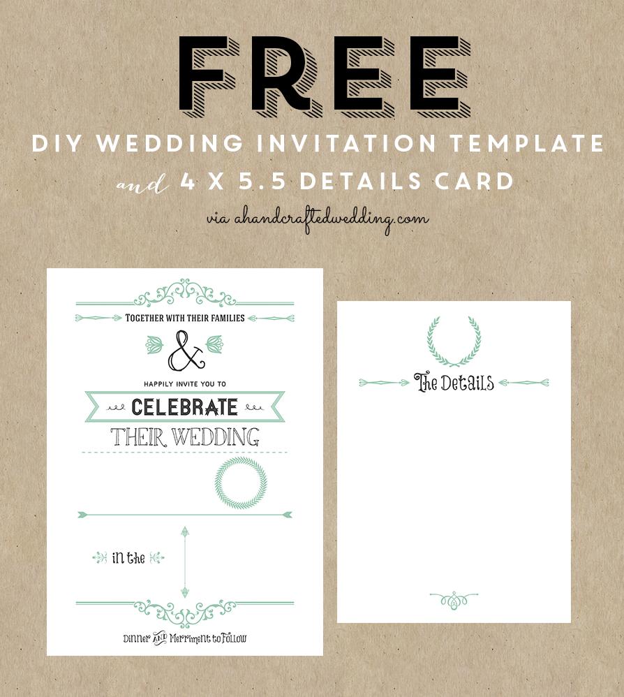 14 Wedding Invitation Templates Images