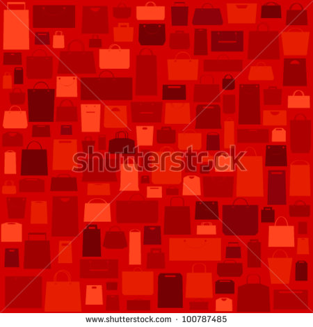 8 Red Shopping Bag Vector Backgrounds Images