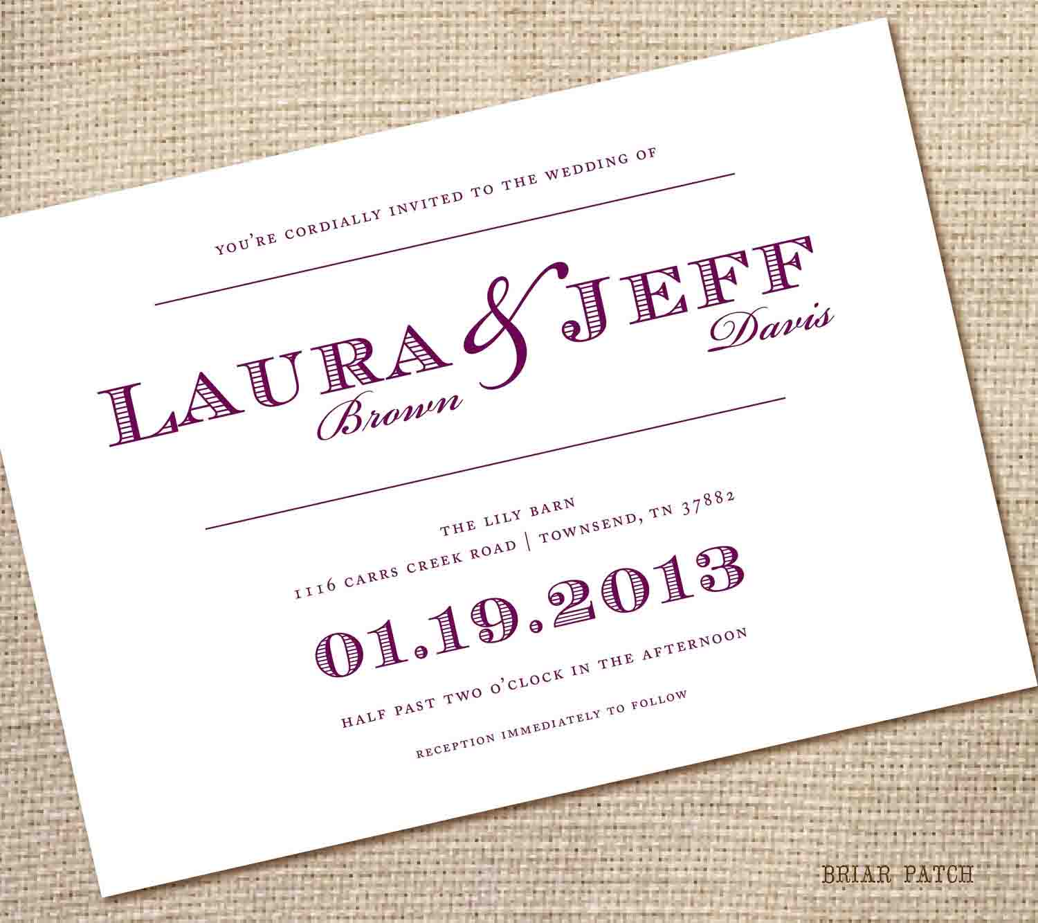14 Wedding Invitation Templates Images