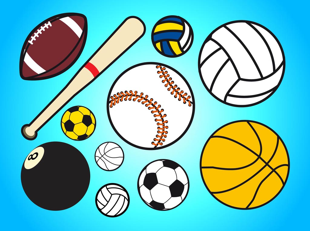 15 Free Sports Vector Graphics Images