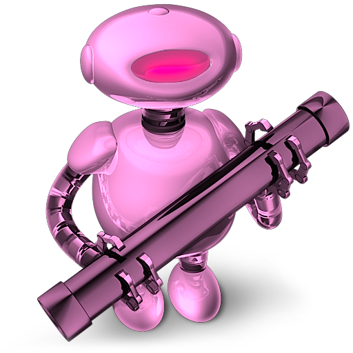 System Preferences Icon Pink