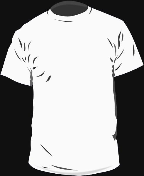 18 T-Shirt Outline Vector Images