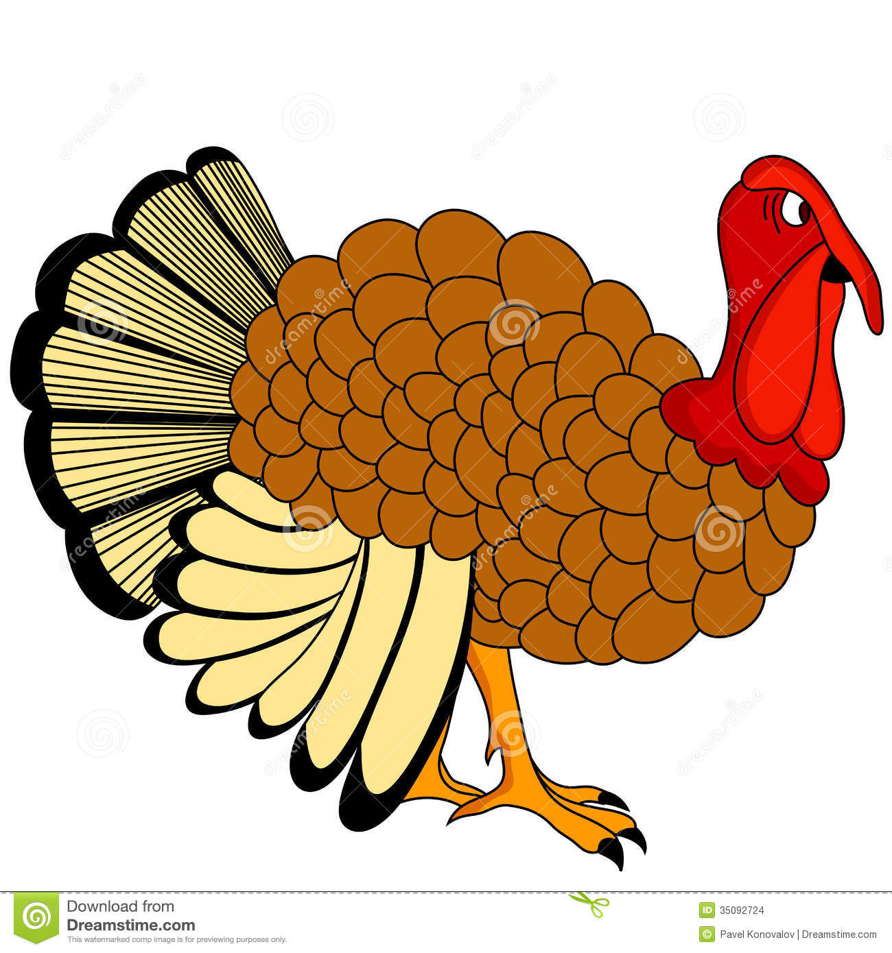 Thanksgiving Day Turkey Icon
