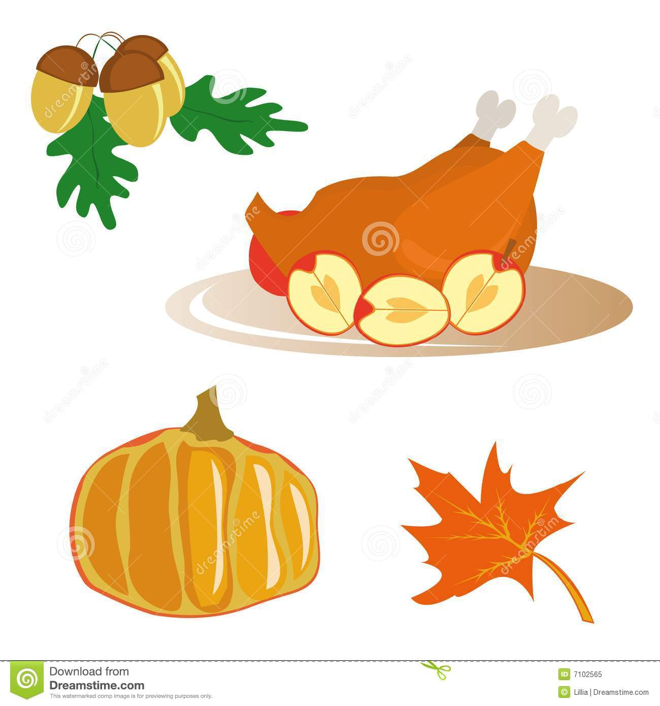 Thanksgiving Turkey Icons Free
