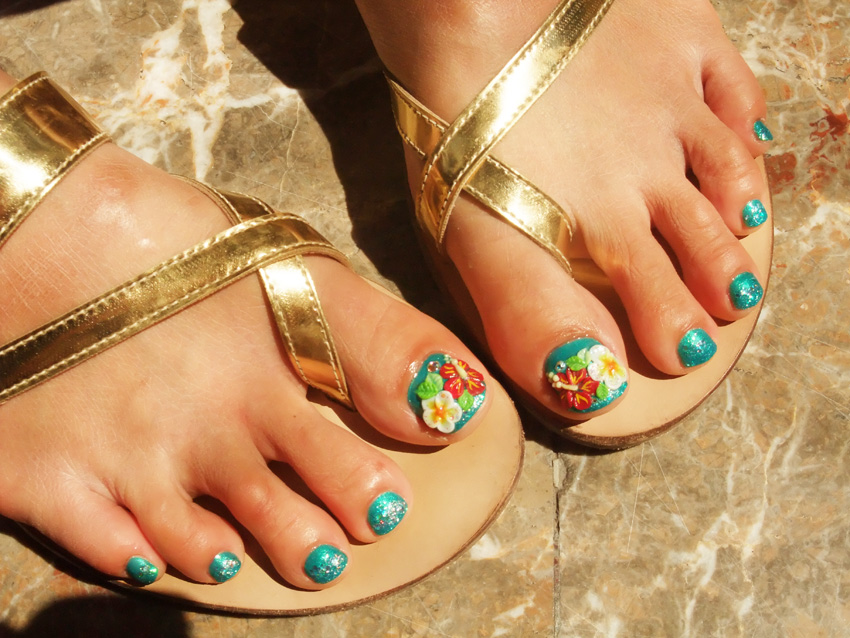 16 Toe Nail Designs 2015 Images