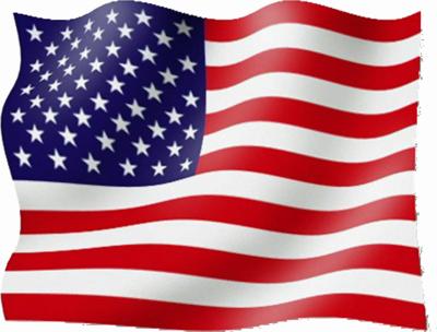 Transparent American Flag