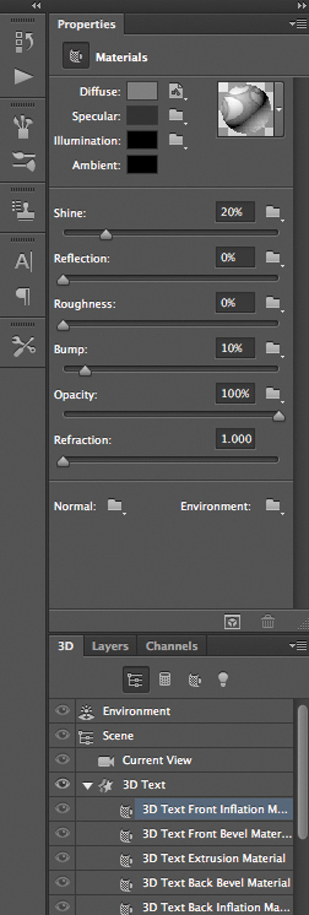 how to make text in photoshop cs6