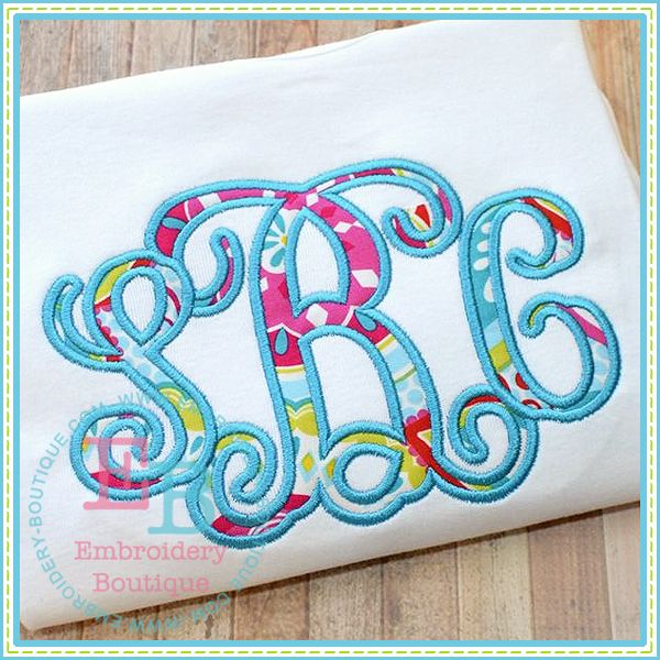 Applique embroidery fonts images machine