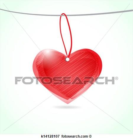 Vintage Heart Vector Clip Art