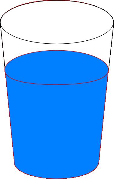 Water Cup Clip Art