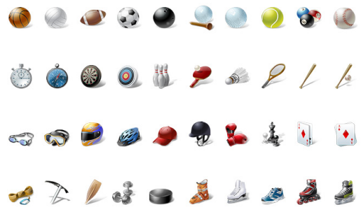 Windows Sports Icons