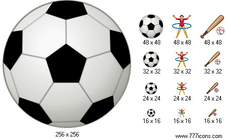 Windows Sports Icons