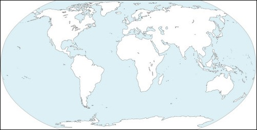 12 vector world map continents images free map of world continents world map without continent names gumiabroncs Gallery
