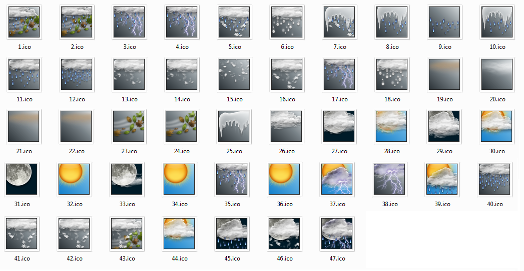 16 Current Weather Icon Images