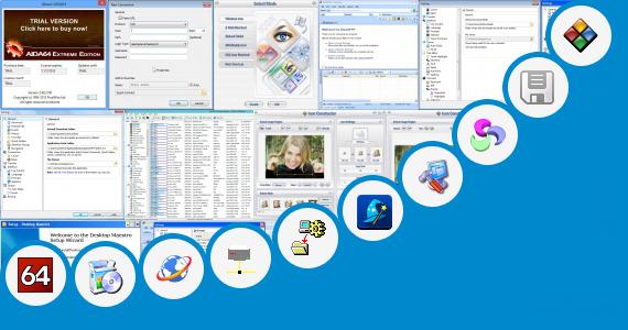 8-Bit Desktop Icons