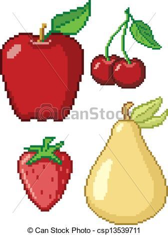 8-Bit Fruit