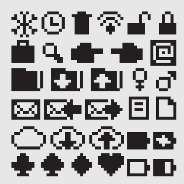 8-Bit Icon Download