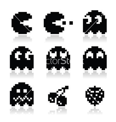 8-Bit Pacman Ghost
